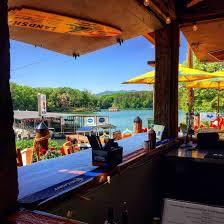 Image result for a view of the marina bar at lake blue ridge ga